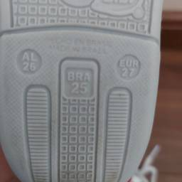 Tênis Bibi couro tamanho 25