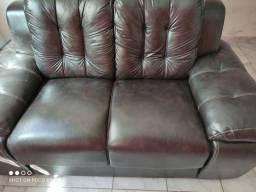 Sofá semi novo topado