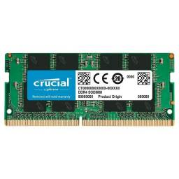 Memória Crucial, 8GB, 2666MHz, DDR4, Para Notebook ou 12X R$ 24,64