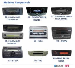 Adaptador Bluetooth Radio Fiat / honda