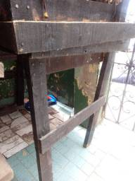 Mesa de madeira para hortifrut