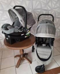 Carrinho Baby Jogger City Mini GT + base isofix + bebê conforto