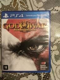 Título do anúncio: Vendo jogo God of War Remasterizado para PS4
