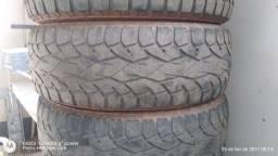 Vendo 4 pneus para camionete 245/70/17