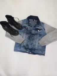 Bota nova n 34+ Jaqueta Jeans
