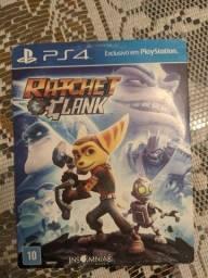 Título do anúncio: Vendo jogo Ratchet Clank para PS4