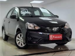 Título do anúncio: Toyota Etios 2020 1.5 x plus sedan 16v flex 4p automático