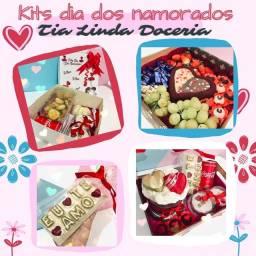 Festa na caixa e kits festa dia dos namorados