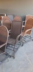 Título do anúncio: Cadeiras de balanço em molas