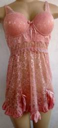 Camisola  romance com robe