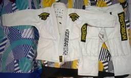 Título do anúncio: Kimono Jiu Jitsu Pretorian Training Infantil M1(usado)