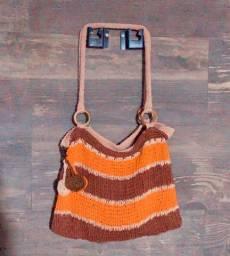 Bolsas em crochet