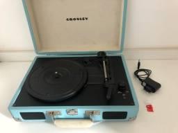 Vitrola / toca discos Crosley portátil