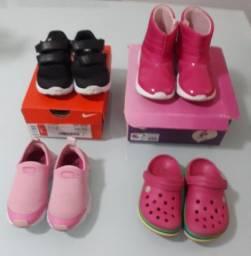 Vendo lote de sapatos infantis