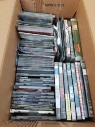 Cds DVDs de filmes Shows Musicas Setanejo MPB Rock e religiosos