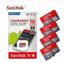 Cartão de memória SanDisk 16gb Produto na embalagem<br><br><br>