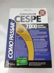 Livro Como Passar em Concursos Públicos CESPE