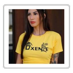 Título do anúncio: T-shirt feminina - varias estampas
