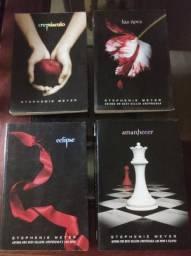 Kit livros - Saga Crepúsculo (4 livros)