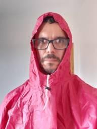 Capa de chuva acampamento