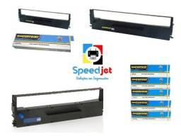 Fita Matricial Preta para Epson LX 300 LX300+ LX 350 FX 890 FX 590 LX 80