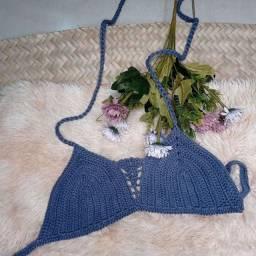 Título do anúncio: Croped crochê