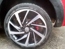 Roda Aro 17 com pneus zerados
