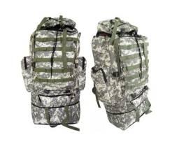 Mochila Camuflada Verde Exército 90 Lts Impermeável ( frete gratis)