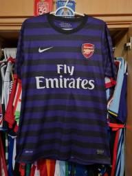 Título do anúncio: Camisa Nike Arsenal 2012/2013 - Tamanho M Reserva
