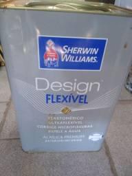Tinta Sherwin willians 16 litros chocotino acetinado