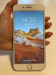 Iphone 8 Plus 64GB Prata Original Impecável