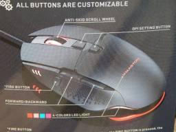 Título do anúncio: Mouse Gamer 7200dpi com RGB led - Novo