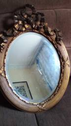 Espelho Oval antigo estilo Barroco