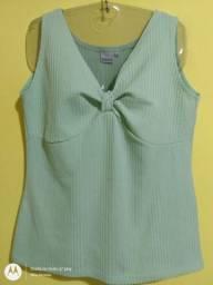 Blusa Feminina Verde Tam M (40,42)