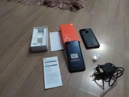 Xiaomi Redmi 6 Black 4 gb RAM 64gb Rom semi novo