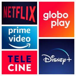 Título do anúncio: Netflix Globoplay Prime video Telecine e Disney+