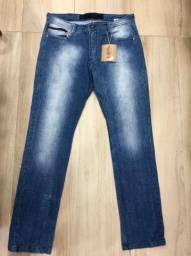 Calça jeans masculina Hering tamanho 44