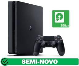 Título do anúncio: PS4 slim 500gb Garantia aceito cartão (Somos Loja Física)