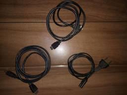 Cabos HDMI/Energia Bipolar