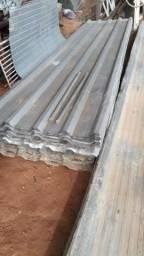 Telhas de zinco e alumínio