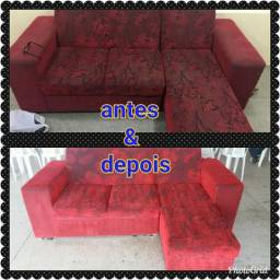 Sofá e poltronas (higienização a seco)