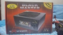 Fonte 500w Reais - BLACK MASTER