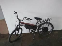 Bicicleta elétrica com marcha