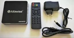 Tv box alfawise 2 ram 16 interna