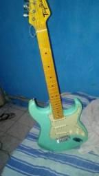 Vendo guitarra elétrica Tagima tg-530 Woodstock cor verde
