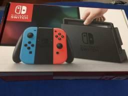 Nintendo Switch na caixa perfeito estado