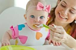 50 papinhas para bebês + bônus de 10 sucos naturais