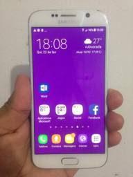 Samsung Galaxy s6 Branco , Desbloqueado em ótimo estado