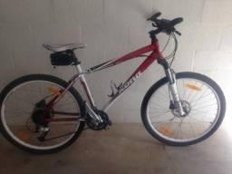 Vendo Bike; bicicleta;Kona NUNU 18 Vermelha comprar usado  Marília