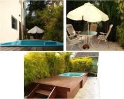 Casa temporada triplex com piscina e mesa de sinuca